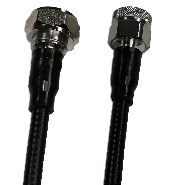 "4.3/10 Male to N Male 1/4"" Super Flexible Riser Low PIM 1 Meter jumper"