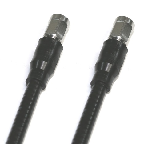 "NEX10  Male to NEX10   Male  3 ft 1/4"" Super Flex Low PIM jumper"