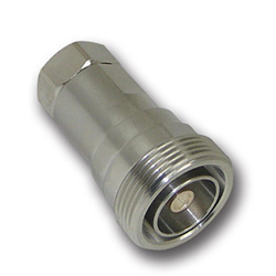 "Din female 1/2"" Superflexible helical field terminated"