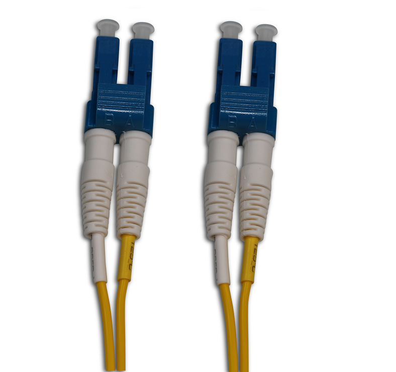 LC/UPC to LC/UPC Singlemode Duplex Fiber Patch Cord, 10FT
