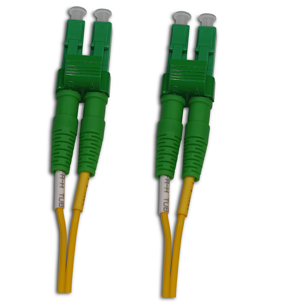 LC/APC to LC/APC Single Mode Duplex 1 Meter Patch Cord