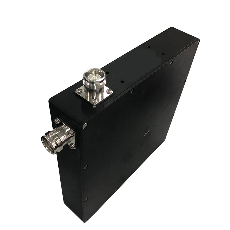 4.3/10-male to 4.3/10-female 10dB/5W /-153dBc PIM Attenuator