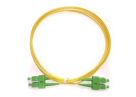 SC/APC to SC/APC Single Mode Duplex 12 Meter Patch Cord
