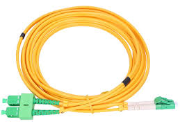LC/APC to SC/APC Single Mode Duplex 5M Patch Cord